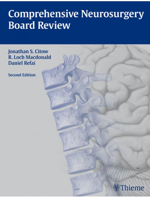 Comprehensive Neurosurgery Board Review Pdf