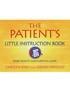 The Patient's Little Instruction Book