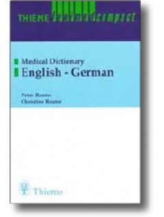 Thieme Leximed Compact English - German