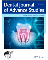 Dental Journal of Advance Studies