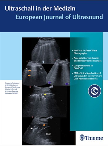 Ultraschall in der Medizin - European Journal of Ultrasound