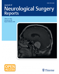 Journal of Neurological Surgery Reports
