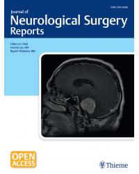 Journal of Neurological Surgery Reports