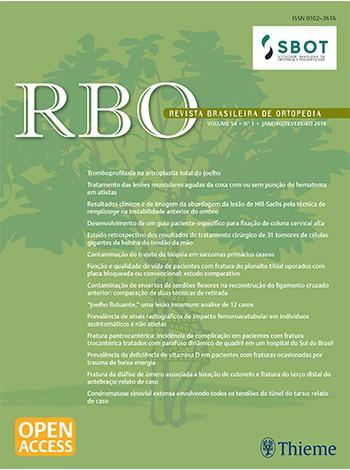 Revista Brasileira de Ortopedia / Brazilian Journal of Orthopaedics