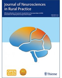 Journal of Neurosciences in Rural Practice