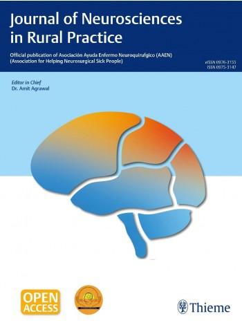 Journal of Neurosciences in Rural Practice