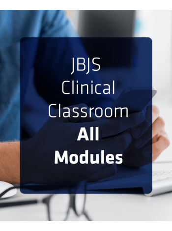 JBJS Clinical Classroom - All Modules