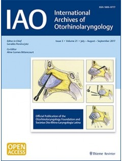 International Archives of Otorhinolaryngology