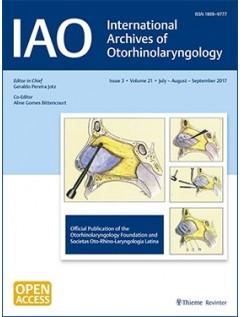 International Archives of Otorhinolaryngology